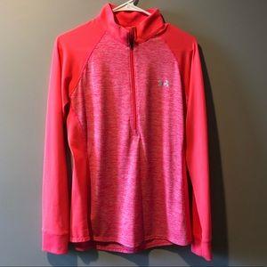 Under Armour Pink 1/2 Zip Jacket